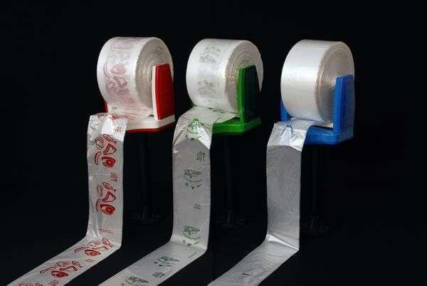 bobina de plástico para embalagem