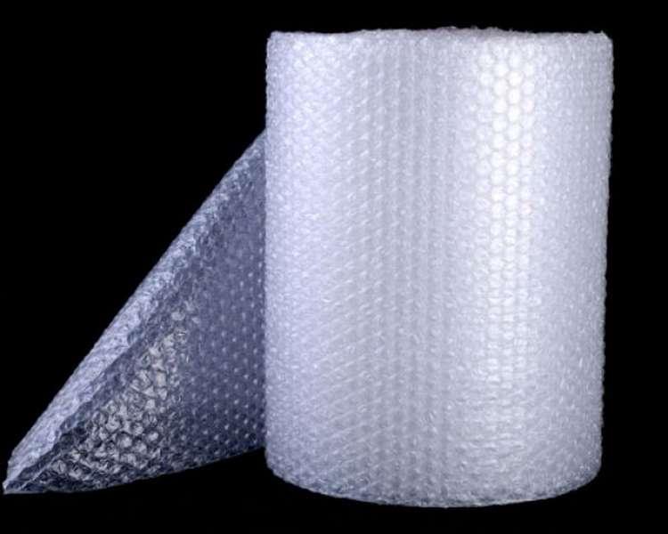 bobina plástico bolha