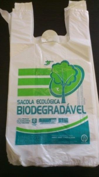 embalagem plástica biodegradável