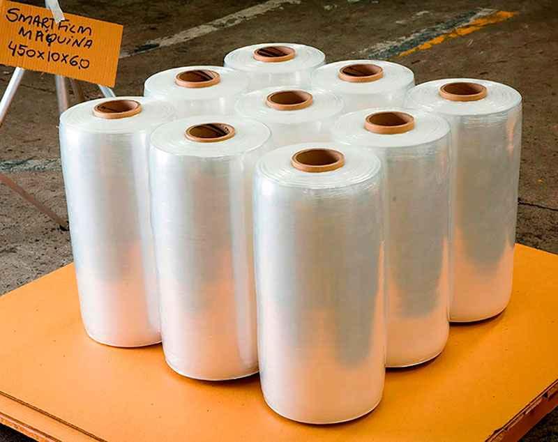 embalagem plástica flexível de polietileno