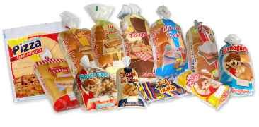 embalagem plástica flexível para alimento mono e multicamadas