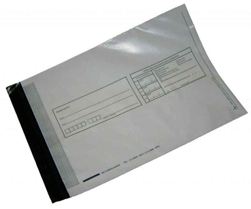 envelope coextrusado adesivado plástico
