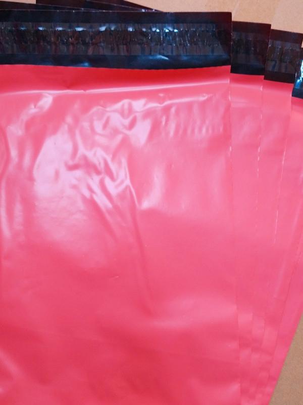envelope de plástico com adesivo personalizado