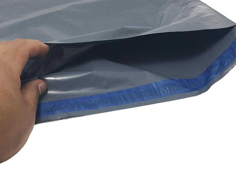 envelope de plástico de segurança com lacre