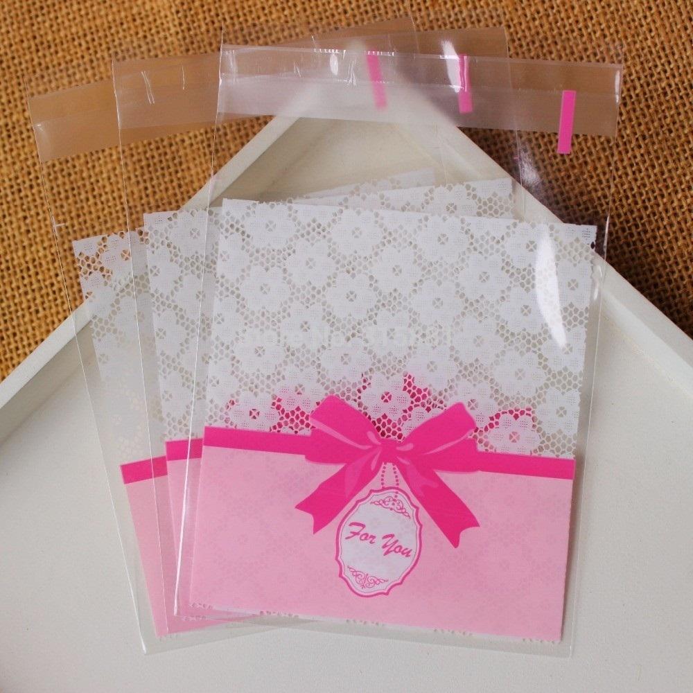 envelope de plástico para convite