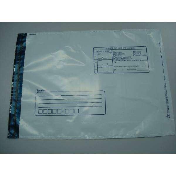 envelopes void de plástico