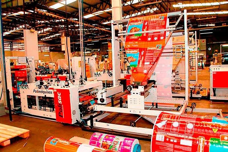indústria de embalagens plásticas