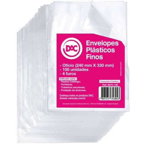 plásticos com furo