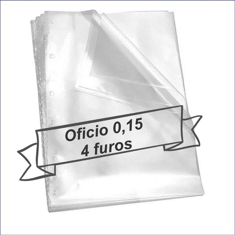 saco plástico oficio 4 furos