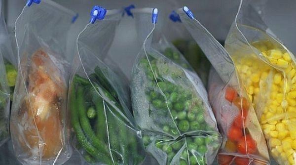 saco plástico para congelados