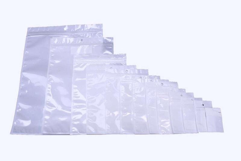 sacos de plástico com fecho zip