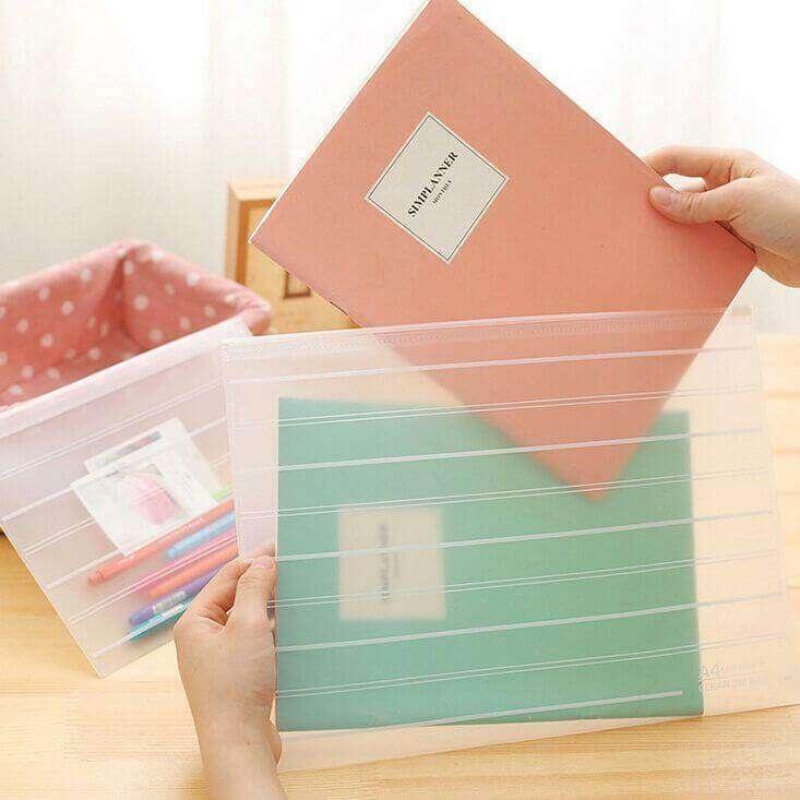 sacos plásticos com ziplock para documentos