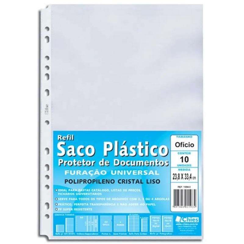 sacos plásticos para documentos de empresas