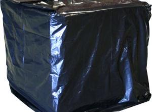 capa plástica para pallet