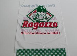 embalagem plástica impressa