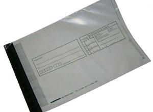 envelope adesivo feito em plástico