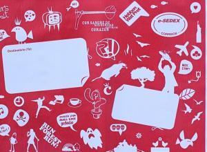 envelope correio de plástico personalizado
