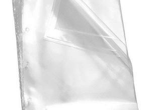envelope de plástico a4