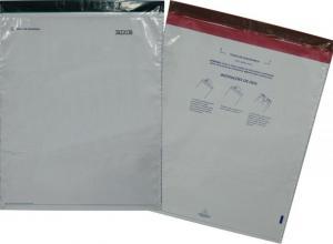 envelope de plástico com zíper