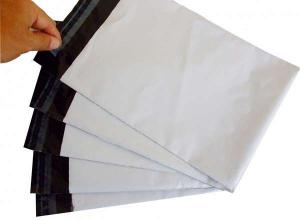 envelope de plástico de segurança com lacres adesivos