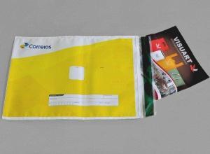 envelope de segurança personalizado em plástico