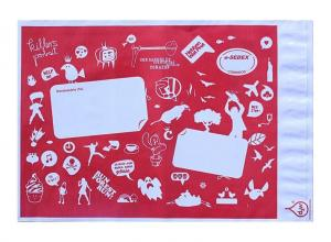 envelope personalizado correio de plástico