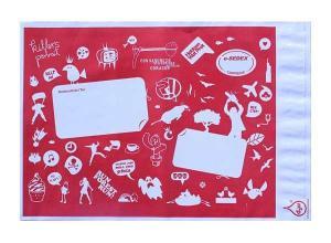 envelope personalizado de plástico
