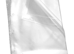 envelope plástico a4 4 furos