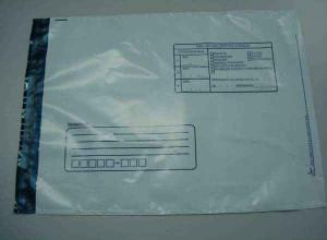 envelope plástico com adesivo correio