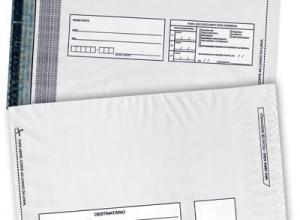 envelope plástico de segurança personalizado