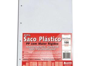 envelope plástico oficio 4 furos