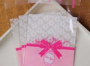 envelope plástico para convite