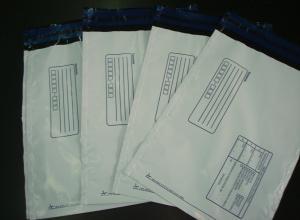 envelopes de plástico para correspondência