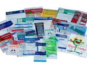 plásticos para impressas