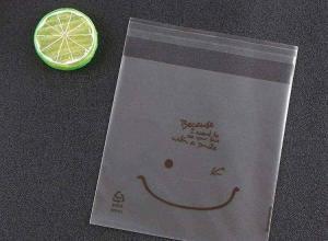 saco adesivado impressos feito de plástico