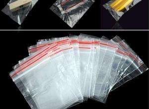 saco de plásticos com ziplock
