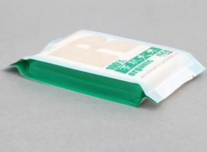 saco impresso de alimento plástico