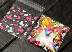 saco impresso plástico adesivo