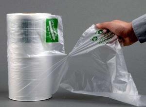 saco plástico picotado