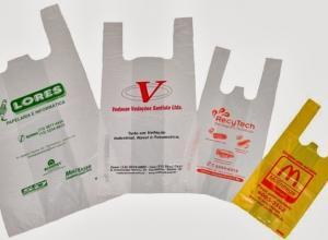sacola personalizada plástico