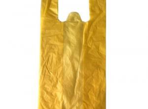 sacola plástica tipo camiseta