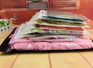 sacola plástica zip