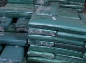 sacolinhas plásticas recicladas