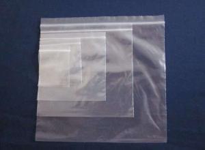 sacos plásticos com ziplock