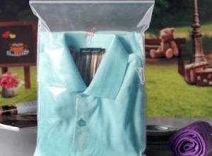 sacos plásticos com ziplock para roupa