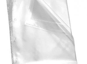sacos plásticos para documentos liso
