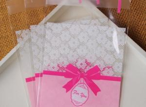 sacos plásticos transparentes personalizados
