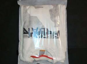 sacos plásticos zip lock roupas
