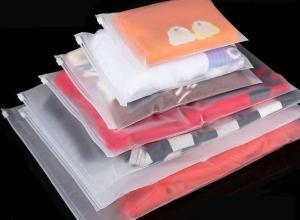 sacos zip lock de roupas plástico