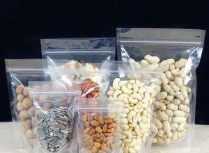 sacos zip para alimento em plástico